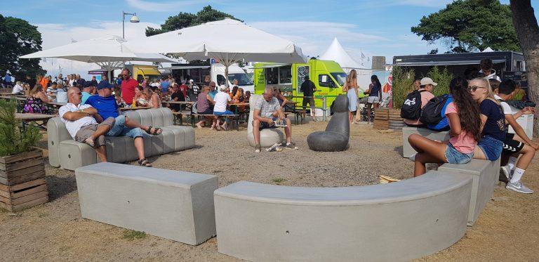 Festivalområdet, Åhus Beachhandboll